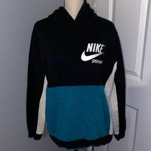 Nike sportswear throwback color combo hoodie